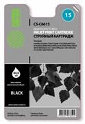 Струйный картридж Cactus CS-C6615 (HP 15) черный для HP Color Copier 310, DeskJet 3820, 840, 840C, 916C, 920, 920C, 940, 940C, Digital Copier Printer 310, Fax 1230, OfficeJet 5105, 5110, V30, V40, V45, PSC 500, 750, 950 (44 мл)