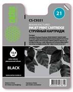 Струйный картридж Cactus CS-C9351 (HP 21) черный для HP DeskJet 3920, 3940, D1300, D1400, D1560, D2360, D2400, F300, F2100, F2280, F2290, F4172; OfficeJet 1410, 4300, 4352, J3680, J5520; PSC 1400, 1410 (10,4 мл.)