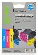 Комплект струйных картриджей Cactus CS-CD972/3/4 (HP 920XL) для HP OfficeJet 6000 Pro, 6500, 6500a, 7000, 7500, 7500a (e910a) (3 x 14,6 мл)