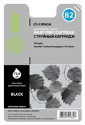 Струйный картридж Cactus CS-CH565A (HP 82) черный для HP DesignJet 111, 510, 510ps, 815 MFP (72 мл.)