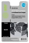 Струйный картридж Cactus CS-CZ133 (HP 711XL) черный увеличенной емкости для HP DesignJet T120, T520 A0, T520 A1 (73 мл.)