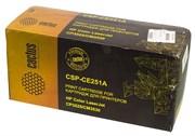 Лазерный картридж Cactus CSP-CE251A (HP 504A) голубой для принтеров HP  Color LaserJet CM3530, CM3530fs MFP, CP3520, CP3525, CP3525dn, CP3525n, CP3525x (10500 стр.)