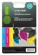 Заправочный набор Cactus CS-RK-CZ638 многоцветный для HP DeskJet 2020, 2520 (3*30ml)