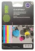 Картридж струйный Cactus CS-R-EPT0827 черный, голубой, пурпурный, желтый, светло-голубой, светло-пурпурный набор карт. для Epson StPh R270, 290, RX590
