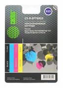 Картридж струйный Cactus CS-R-EPT0925 черный, голубой, пурпурный, желтый набор карт. для Epson St C91, CX4300, T26 (11.4мл)