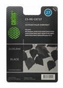 Заправочный набор Cactus CS-RK-C8727 черный 60мл для HP DeskJet 3320, 3325, 3420, 3425, 3520, 3535; OfficeJet 4212