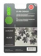 Заправка для ПЗК Cactus CS-RK-CAN425 черный (19.6мл) Canon PIXMA iP4840
