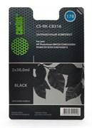 Заправочный набор Cactus CS-RK-CB316 черный 60мл для HP PhotoSmart B8553, C5383, C6383, D5463, 5510
