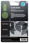 Заправочный набор Cactus CS-RK-CB335 черный HP DeskJet D4263, D4363; OfficeJet J5783, J6413 (2*30ml)