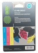 Заправочный набор Cactus CS-RK-CB337 цветной HP DeskJet D4263, D4363, D5360; OfficeJet J5783 (3*30ml)