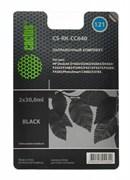 Заправочный набор Cactus CS-RK-CC640 черный для HP DeskJet D1663, D2563, D2663, D5563 (2*30ml)