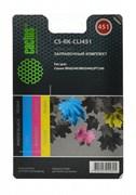Заправочный набор Cactus CS-RK-CLI451 многоцветный 120мл для Canon MG 6340, 5440, IP7240