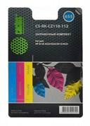Заправочный набор Cactus CS-RK-CZ110-112 многоцветный 90мл для HP DJ IA 3525, 5525, 4515, 4525