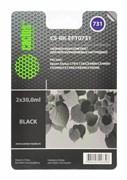 Заправка для ПЗК Cactus CS-RK-EPT0731 черный (14.4мл) Epson Stylus С79, C110