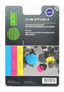 Заправка для ПЗК Cactus CS-RK-EPT1282-4 цветной (8.6мл) Epson Stylus S22