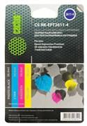 Заправка для ПЗК Cactus CS-RK-EPT2611-4 цветной (4x30мл) Epson Home XP-600