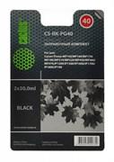 Заправочный набор Cactus CS-RK-PG40 черный 60мл для Canon MP150,  MP160,  MP170,  MP180,  MP210