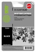 Струйный картридж Cactus CS-CLI471XLBK (0346C001) фото черный для Canon Pixma MG5740, MG6840, MG7740, TS5040, TS6040, TS8040, TS9040 (810 стр.)