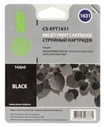 Картридж струйный Cactus CS-EPT1631 (C13T16314010) черный для Epson WF-2010, 2510, 2520, 2530, 2540, 2630, 2650, 2660 (14,6 мл.)
