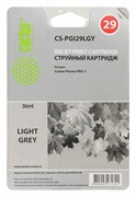 Струйный картридж Cactus CS-PGI29LGY (4872B001) светло-серый для Canon Pixma PRO-1 (1'320 стр.)