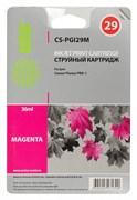 Струйный картридж Cactus CS-PGI29M (4874B001) пурпурный для Canon Pixma PRO-1 (1'850 стр.)