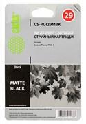 Струйный картридж Cactus CS-PGI29MBK (4868B001) черный матовый для Canon Pixma PRO-1 (1'925 стр.)