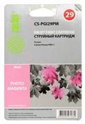Струйный картридж Cactus CS-PGI29PM (4877B001) фото пурпурный для Canon Pixma PRO-1 (1'010 стр.)