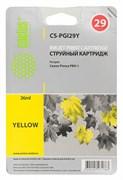 Струйный картридж Cactus CS-PGI29Y (4875B001) желтый для Canon Pixma PRO-1 (1'420 стр.)