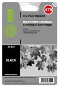Струйный картридж Cactus CS-PGI470XLBK (0321C001) черный для Canon Pixma MG5740, MG6840, MG7740, TS5040, TS6040, TS8040, TS9040 (500 стр.)