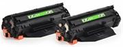 Лазерный картридж Cactus CS-CB435AD (HP 35A) черный для принтеров HP LaserJet P1002, P1002w, P1005, P1006, P1007, P1008, P1011 (2 x 1'500 стр.)