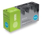 Лазерный картридж Cactus CS-C7115X (HP 15X) черный увеличенной емкости для HP LaserJet 1200, 1200n, 1200se, 1220, 1220se, 3300, 3300 MFP, 3310, 3320, 3320 MFP, 3320n, 3320n MFP, 3330, 3330 MFP, 3380, 3380 MFP (3'500 стр.)