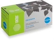 Лазерный картридж Cactus CS-CC531A (HP 304A) голубой для HP Color LaserJet CM2320 mfp, CM2320fxi (CC435A), CM2320n, CM2320nf (CC436A), CP2020 series, CP2025 (CB493A), CP2025dn (CB495A), CP2025n (CB494A), CP2025X (2'800 стр.)