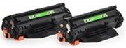 Лазерный картридж Cactus CS-CB436AD (HP 36A) черный для HP LaserJet M1120 mfp, M1120n mfp, M1522 MFP, M1522n MFP, M1522nf MFP, P1504, P1504n, P1505, P1505n, P1506, P1506n (2 x 2'000 стр.)