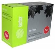 Лазерный картридж Cactus CS-C724 (Cartridge 724) черный для Canon LBP 6480 i-Sensys, 6480x i-Sensys, 6750 i-Sensys, 6750dn i-Sensys, 6780x i-Sensys; MF512x i-Sensys, 515x i-Sensys (6'000 стр.)