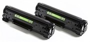 Лазерный картридж Cactus CS-C725D (Cartridge 725) черный для Canon LBP 6000 i-Sensys, 6000b i-Sensys, 6020 i-Sensys, 6020b i-Sensys, 6030 i-Sensys, 6030b i-Sensys, 6030w i-Sensys; MF3010 i-Sensys (2 x 1'600 стр.)