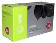 Лазерный картридж Cactus CS-LX36 (E360H11E Bk) черный для Lexmark Optra E360, E360d, E360dn, E460, E460dn, E460dw, E462dtn (9'000 стр.)