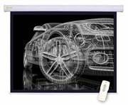 """Экран Cactus Motoscreen CS-PSM-150x150 84"""" 1:1 настенно-потолочный , моторизованный привод (150x150 см.)"""