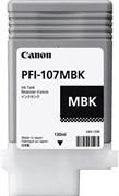 Струйный картридж Cactus CS-PFI107MBK (6704B001) черный матовый для Canon ImagePrograf iPF670, iPF670 MFP L24, iPF680, iPF681, iPF685, iPF686, iPF770, iPF770 MFP L36, iPF780, iPF780 MFP M40, iPF781, iPF785, iPF785 MFP M40, iPF786 (130 мл.)